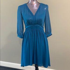 Feminine 3/4 sleeves dress